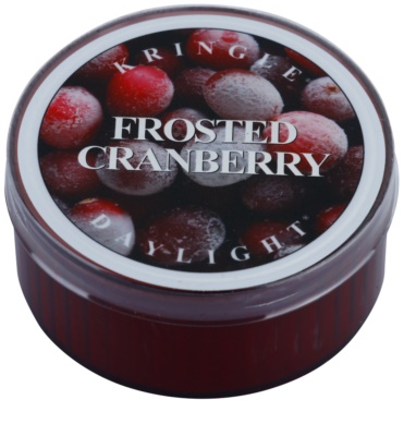 Kringle Candle Frosted Cranberry Teelicht