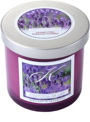Kringle Candle French Lavender vela perfumado  pequeno