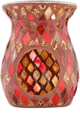 Kringle Candle Red & Gold Mosaic Keramická aromalampa