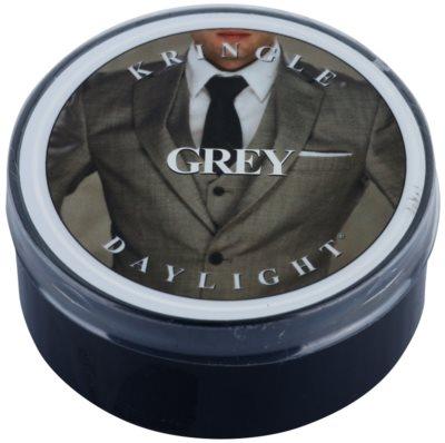 Kringle Candle Grey čajová sviečka