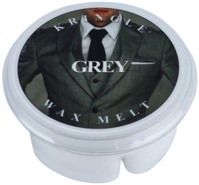 Kringle Candle Grey vosek za aroma lučko