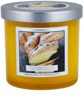 Kringle Candle Ginger Root vela perfumada   pequeño