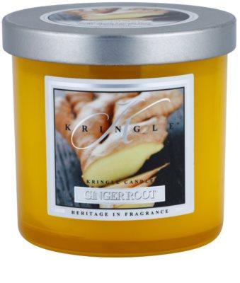 Kringle Candle Ginger Root vela perfumado  pequeno