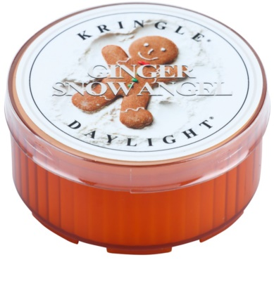 Kringle Candle Ginger Snow Angel teamécses