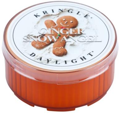 Kringle Candle Ginger Snow Angel vela do chá