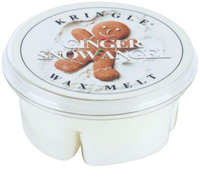 Kringle Candle Ginger Snow Angel cera para lámparas aromáticas