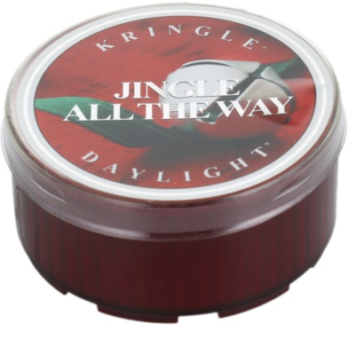 Kringle Candle Jingle All The Way vela de té