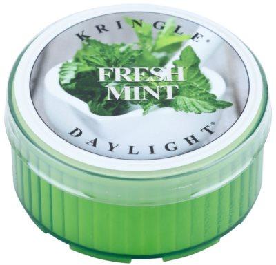 Kringle Candle Fresh Mint vela do chá