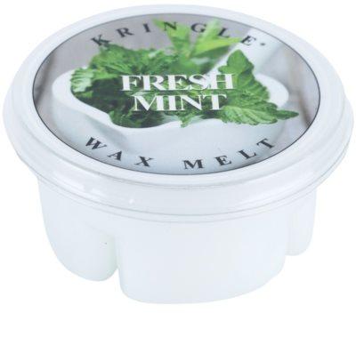 Kringle Candle Fresh Mint vosek za aroma lučko