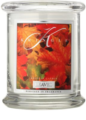 Kringle Candle Leaves vela perfumado