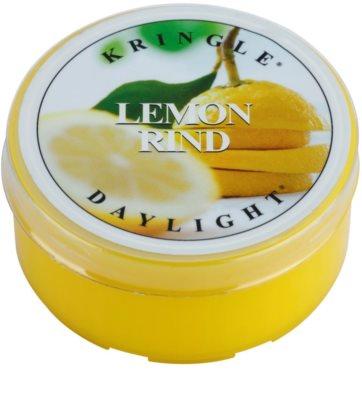 Kringle Candle Lemon Rind vela do chá