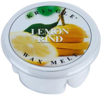Kringle Candle Lemon Rind illatos viasz aromalámpába