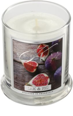 Kringle Candle Oak & Fig vela perfumado 1