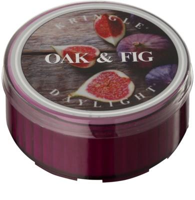 Kringle Candle Oak & Fig čajová svíčka