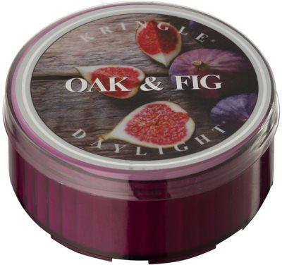 Kringle Candle Oak & Fig świeczka typu tealight