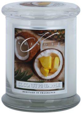 Kringle Candle Coconut Pineapple dišeča sveča   srednja