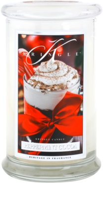 Kringle Candle Peppermint Cocoa vela perfumado  grande