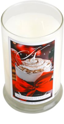 Kringle Candle Peppermint Cocoa vela perfumado  grande 1