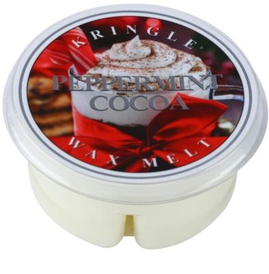 Kringle Candle Peppermint Cocoa cera derretida aromatizante