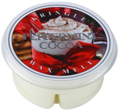 Kringle Candle Peppermint Cocoa cera para lámparas aromáticas