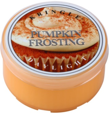 Kringle Candle Pumpkin Frosting Tealight Candle