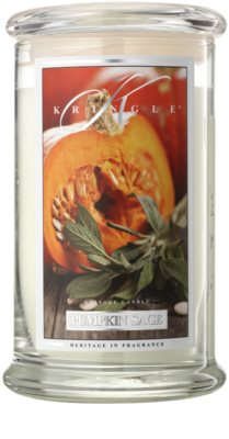 Kringle Candle Pumpkin Sage Scented Candle