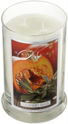 Kringle Candle Pumpkin Sage vonná svíčka 1