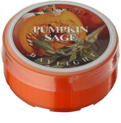 Kringle Candle Pumpkin Sage teamécses