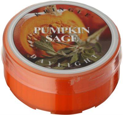 Kringle Candle Pumpkin Sage Teelicht