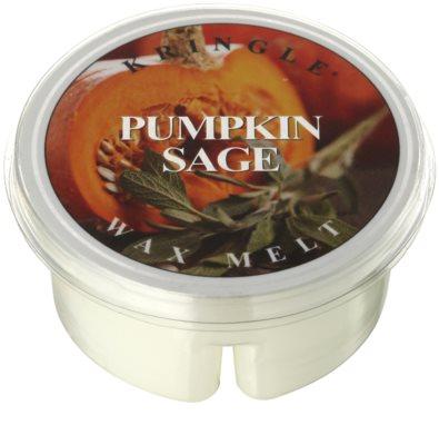 Kringle Candle Pumpkin Sage vosek za aroma lučko