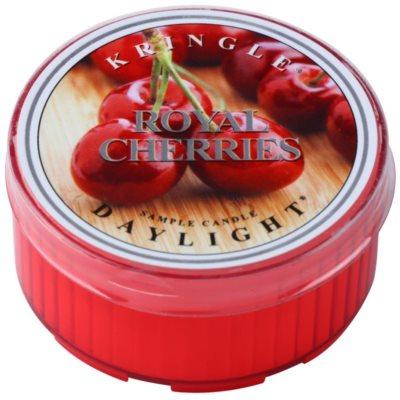 Kringle Candle Royal Cherries čajna sveča