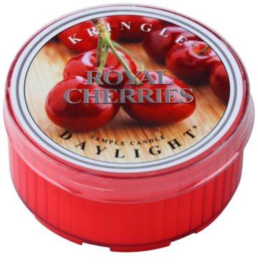 Kringle Candle Royal Cherries teamécses
