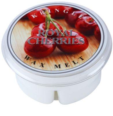 Kringle Candle Royal Cherries cera para lámparas aromáticas