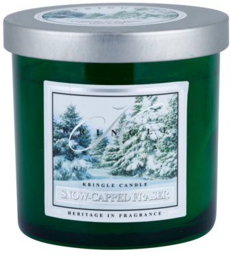 Kringle Candle Snow Capped Fraser vela perfumada   pequeño