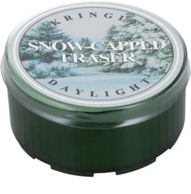 Kringle Candle Snow Capped Fraser čajna sveča