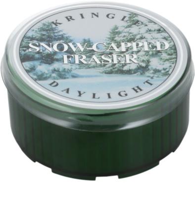 Kringle Candle Snow Capped Fraser čajová svíčka