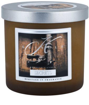 Kringle Candle Secrets illatos gyertya   kicsi
