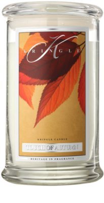 Kringle Candle Touch of Autumn ароматна свещ