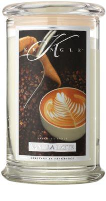 Kringle Candle Vanilla Latte vonná svíčka