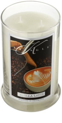 Kringle Candle Vanilla Latte vela perfumado 1