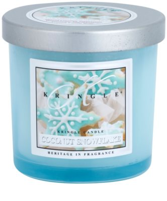 Kringle Candle Coconut Snowflake vonná svíčka