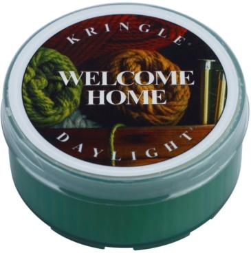 Kringle Candle Welcome Home vela do chá