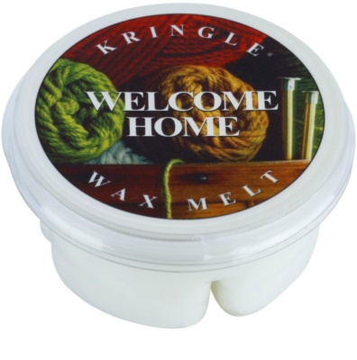 Kringle Candle Welcome Home vosek za aroma lučko
