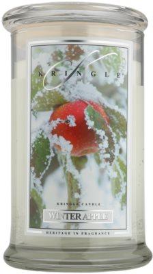Kringle Candle Winter Apple vonná svíčka