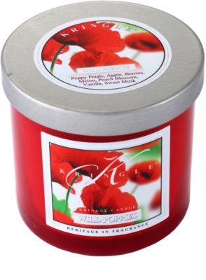 Kringle Candle Wild Poppies vela perfumada   pequeño