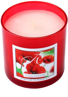 Kringle Candle Wild Poppies vela perfumada   pequeño 1