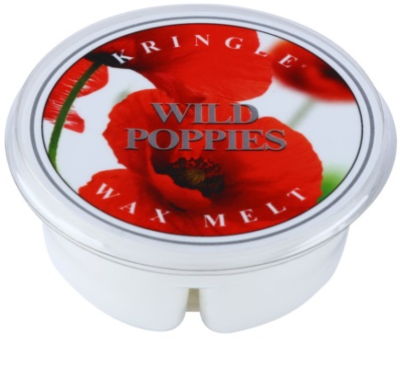 Kringle Candle Wild Poppies cera derretida aromatizante