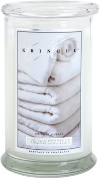Kringle Candle Warm Cotton Duftkerze   große