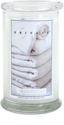 Kringle Candle Warm Cotton illatos gyertya   nagy