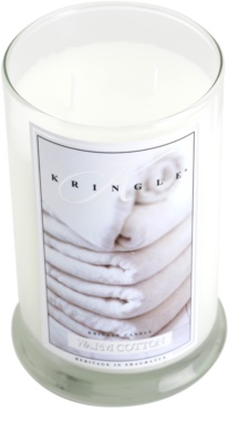 Kringle Candle Warm Cotton vonná svíčka  velká 1